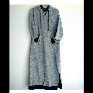 Soft Surrounding Work At Home Career Gown Cozy Lg